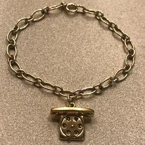 Jewelry - RARE 14k HEAVY 13 Gram Vintage Telephone Bracelet